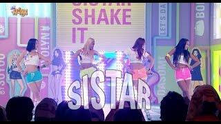 【TVPP】SISTAR –  Shake It, 씨스타 - Shake It @ Comeback Stage, Show Music Core Live