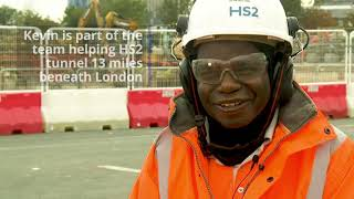 HS2 Careers: Kevin's story