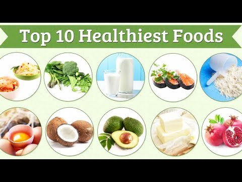 Top ten best foods in the world - health conscious