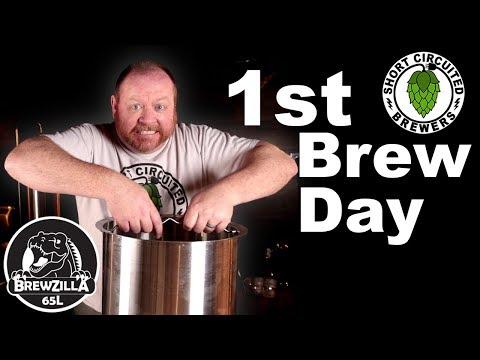 Brewzilla 65L Robobrew - 1st Brew Day On The New System