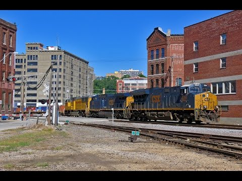 2016-08-13 Trainwatching the KC Area