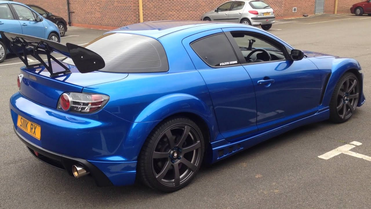 for sale modified mazda rx8 project car for a car club. Black Bedroom Furniture Sets. Home Design Ideas