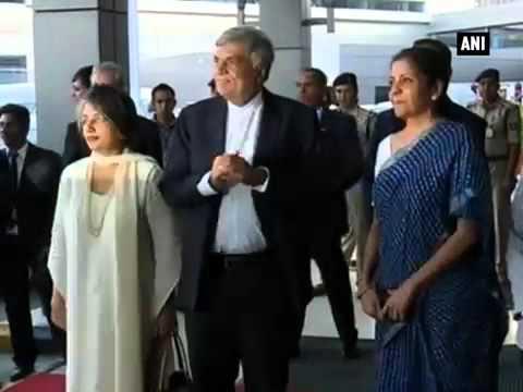 Sri Lankan PM Ranil Wickremesinghe arrives in Delhi