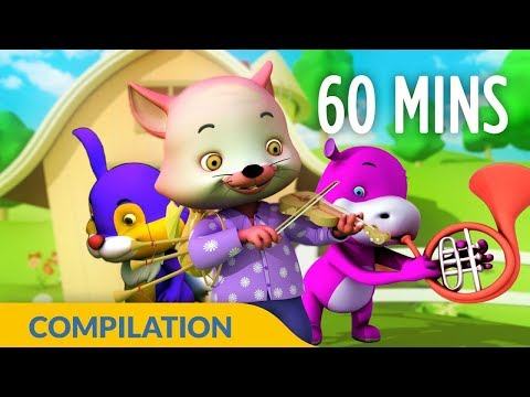Hey Diddle Diddle | Cat Song & Rhymes | 3D Nursery Rhymes for Kids and Children I 30 Mins Baby Songs