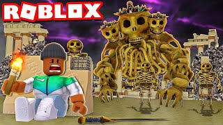 Survive the SKULL SANCTUARY or DIE!! (Roblox Time Travel Adventures)