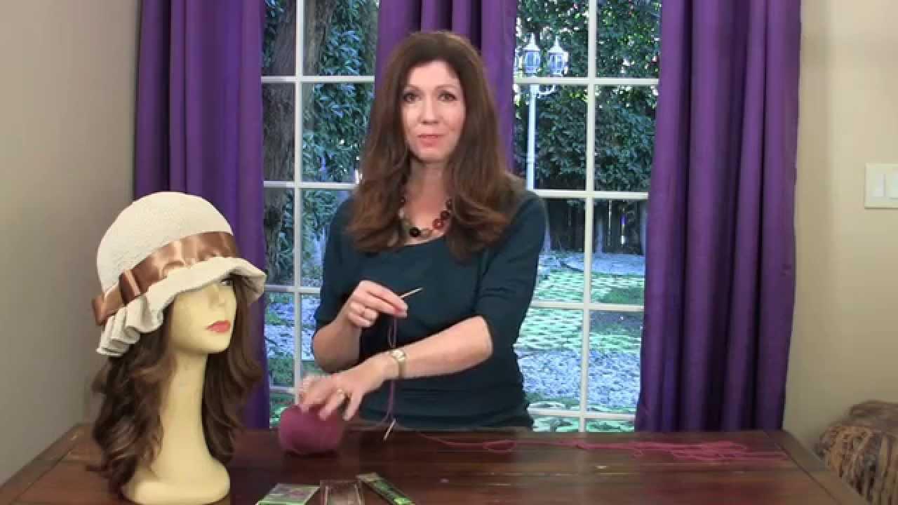 1305f7e1a34176 Knit the Cloche Hat - Lesson 1 - YouTube