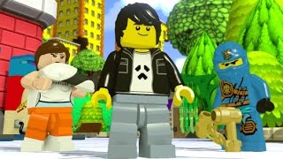 LEGO Dimensions - Midway Arcade World 100% Guide (All Collectibles)