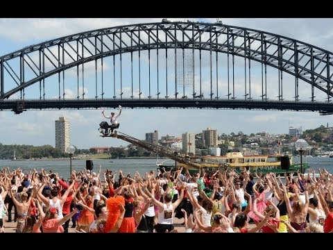 Baz Luhrmann Directs Outdoor Ballroom Dancing Event In Sydney