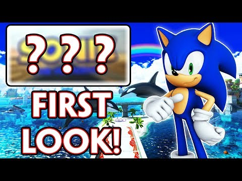 SONIC MOVIE LOGO OFFICIALLY REVEALED! SONIC THE HEDGEHOG MOVIE NEWS