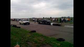 Drag Racing г.Краматорск 2108 vs 2114