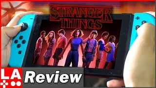 Stranger Things 3: The Game Review | (Nintendo Switch/PS4/Xbox/PC) (Video Game Video Review)