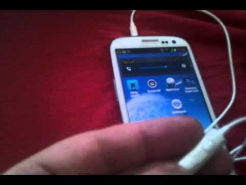 Samsung Galaxy S3 Headset Problem Youtube