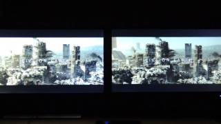 Ultra HD compare 4k elysium samsung U28D590D 60Hz vs AOC u2868Pqu 30Hz