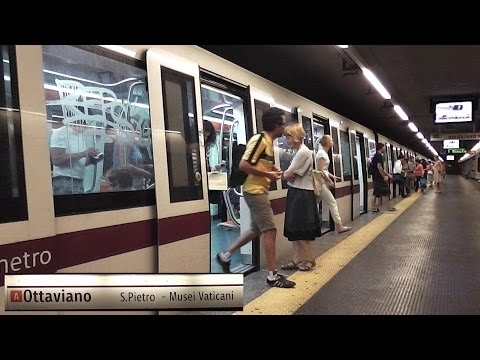 Rome Metro Line A - Ottaviano (Vatican Museum) Station