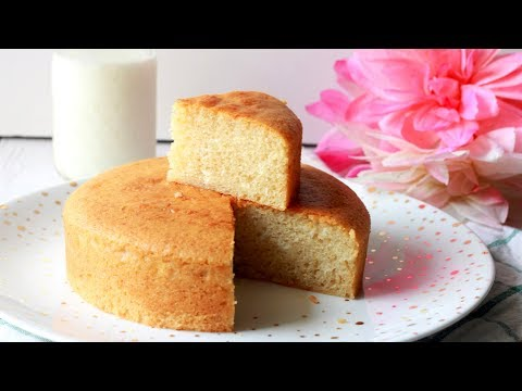 How to make eggless cake moist and fluffy