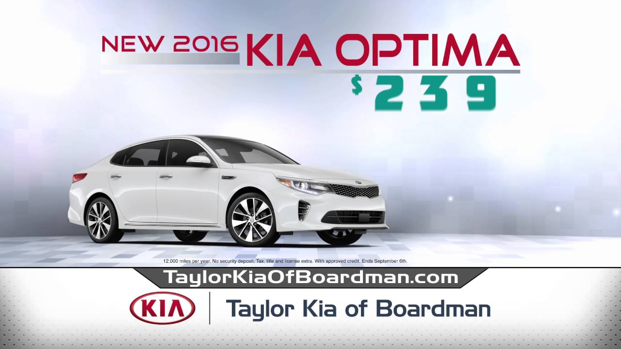 Taylor Kia Of Boardman >> Taylor Kia Of Boardman July Specials 2
