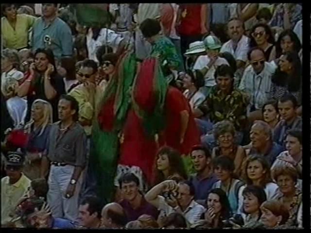 82a Giostra del Saracino 30 agosto 1992 - Sintesi Carriere