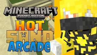 ⏩0.11.0 - Hot Sand Arcade - MCPE Simple Games!!