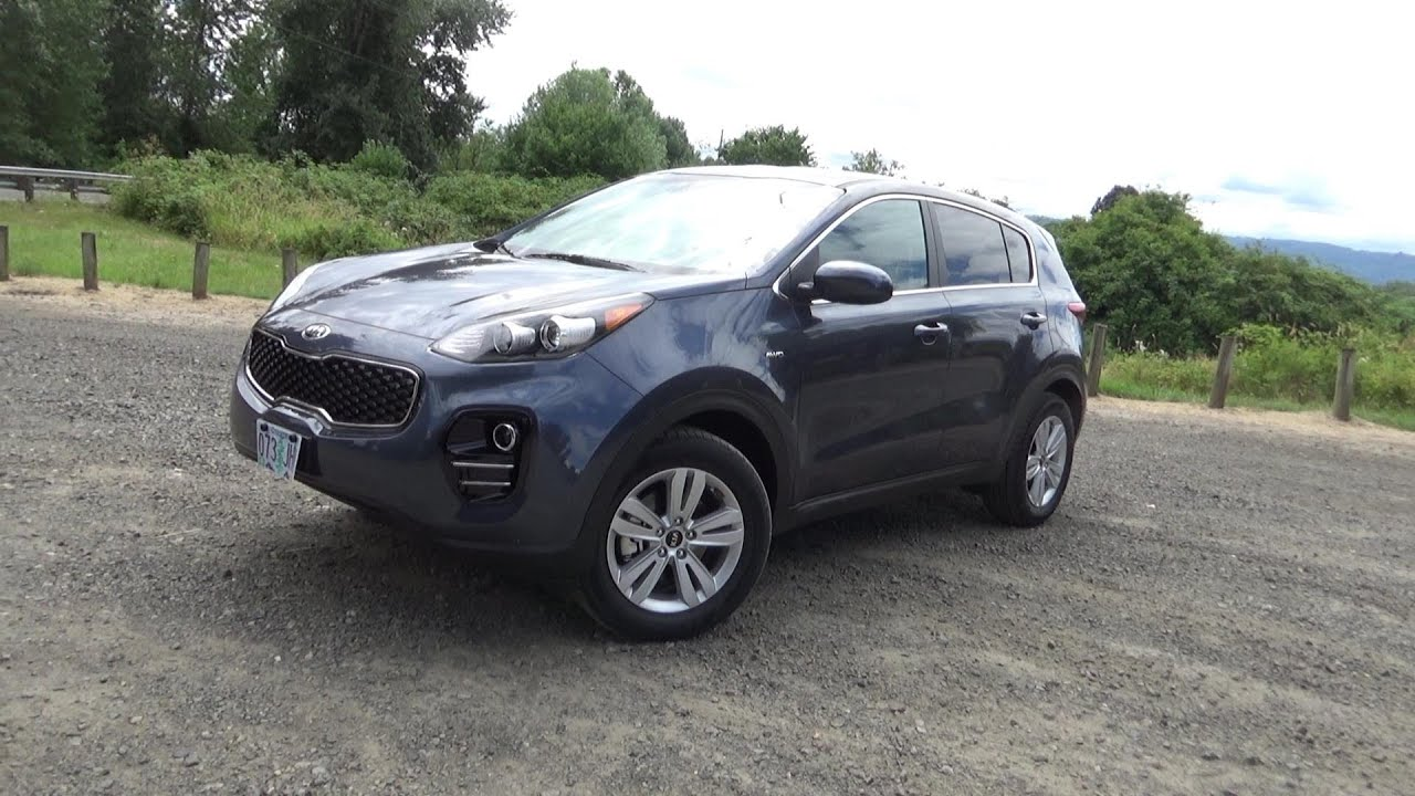 2017 Kia Sportage LX AWD Review