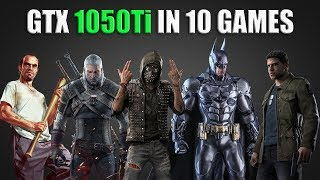 NVIDIA GTX 1050 Ti - Test in 10 Games | i5 2500