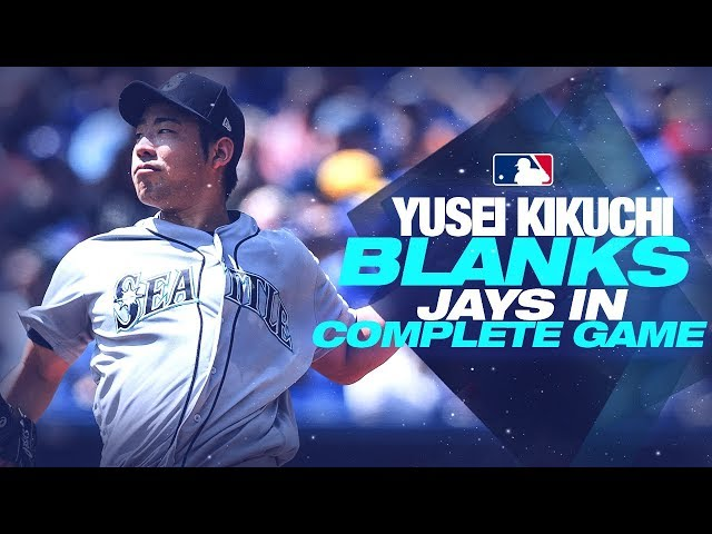 Yusei Kikuchi GOES OFF for complete game shutout