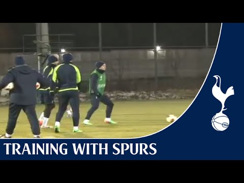 Spurs TV Exclusive | The team training in Dnipro