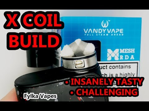 X Coil Build Vandy Vape Mesh RDA