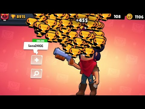SHELLY NONSTOP To 600 Trophies! Brawl Stars