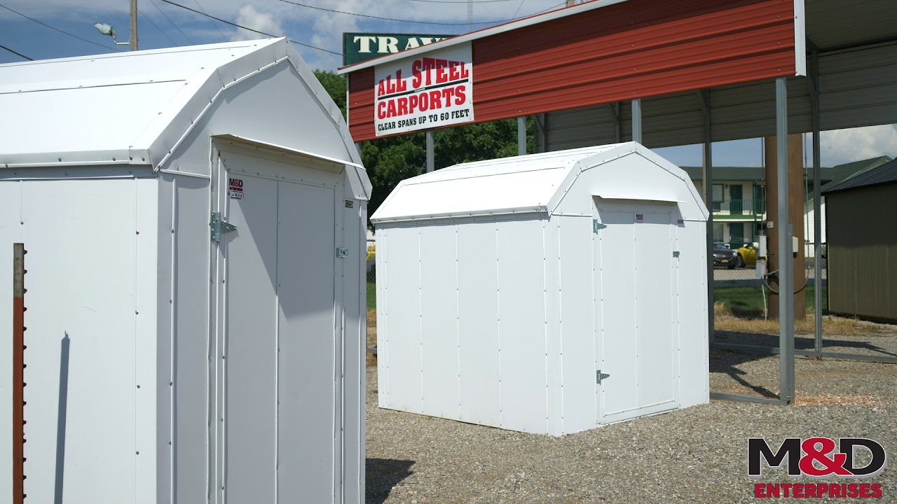Insulated Well Houses and Sheds from M&D Enterprises - OutbuildingsOK