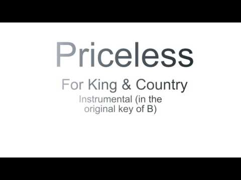 Priceless Instrumental and Multi Track (For King & Country)