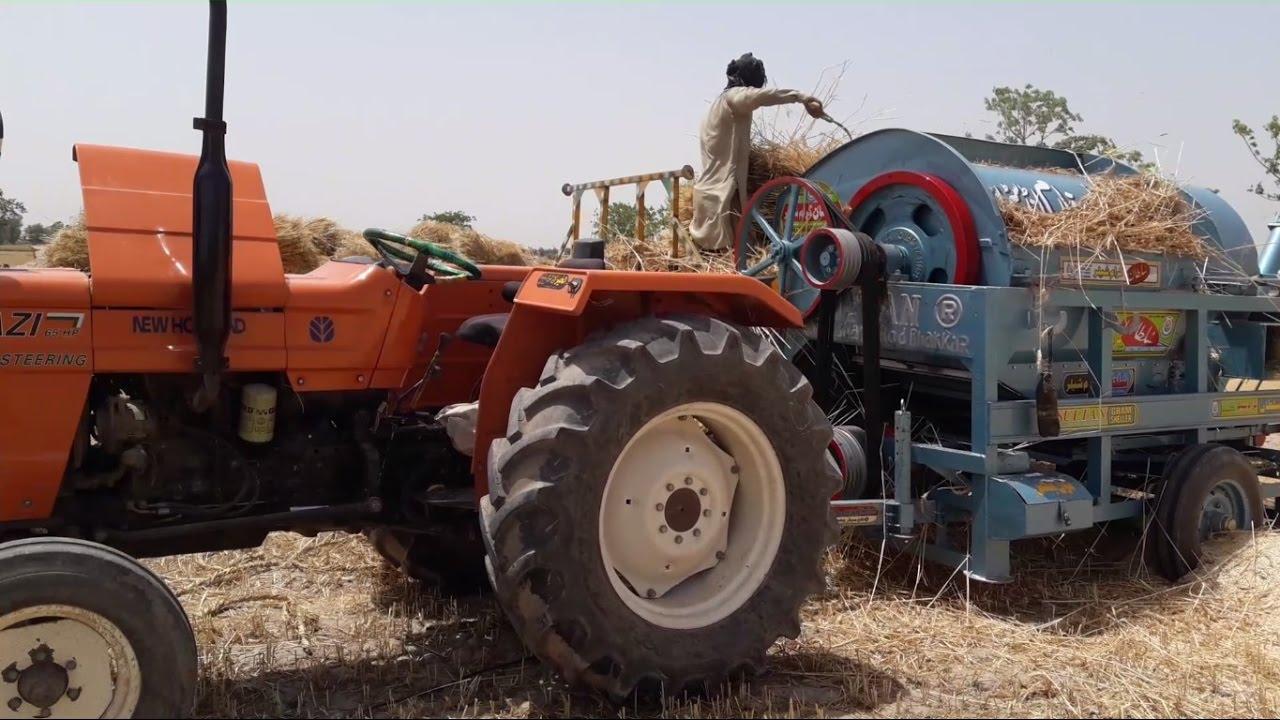 Wheat Thresher Machine Price in Pakistan   Tractor Operated