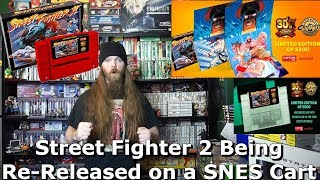 Street Fighter 2 Being Re-Released on a SNES Cart by Capcom & Iam8Bit - AlphaOmegaSin