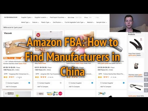 Amazon FBA: How to Find Manufacturers in China and Order Private