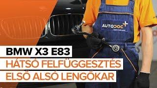 Nézzen meg egy videó útmutatók a BMW X3 (E83) Hátsólámpa izzó csere