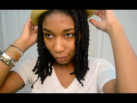 How To Stretch Twists Frizz Free Natural Hair Protective Style