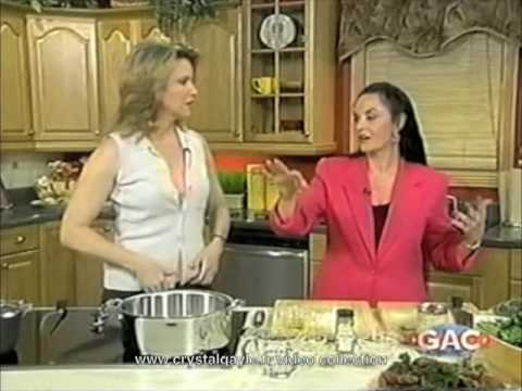 Crystal Gayle  Lorianne Crooks  celebrity kitchen  part 5