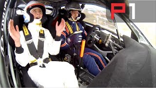 WRC Hyundai i20 flat out over MASSIVE jump - Rally Portugal 20…