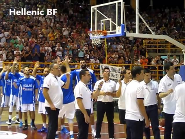 EOK | Εθνική Ομάδα Ανδρών: Τσεχία-Ελλάδα 56-70. Διεθνές Τουρνουά Ξάνθης: Η παρακάμερα του αγώνα με την Τσεχία [HellenicBF]