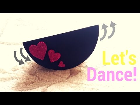 DIY Dancing Card!!! New and Unique DIY Card! Valentine's day Cards | Love heart card! #DIY