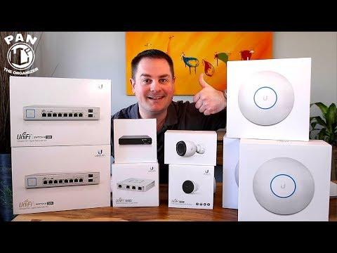 SUPER FAST WiFi NETWORK IN MY HOME !!  Ubiquiti UniFi + UniFi Protect