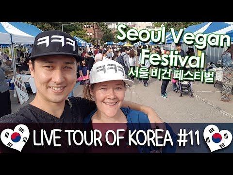 Seoul Vegan Festival 서울 비건 페스티벌 - 🇰🇷 LIVE TOUR OF KOREA #11