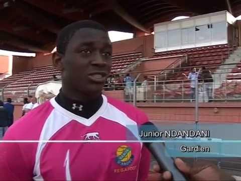 Junior Ndandani : Gardin de but