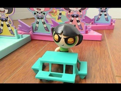 Powerpuff Girls Toys Buttercup Storymaker System Dine & Dash Play Set
