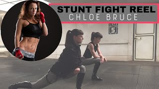 Chloe Bruce Stunt Fight Reel | Martial arts fight collection