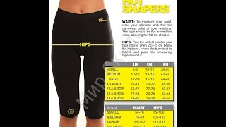 бриджи для похудения размеры
