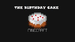 The Birthday Cake - Minecraft