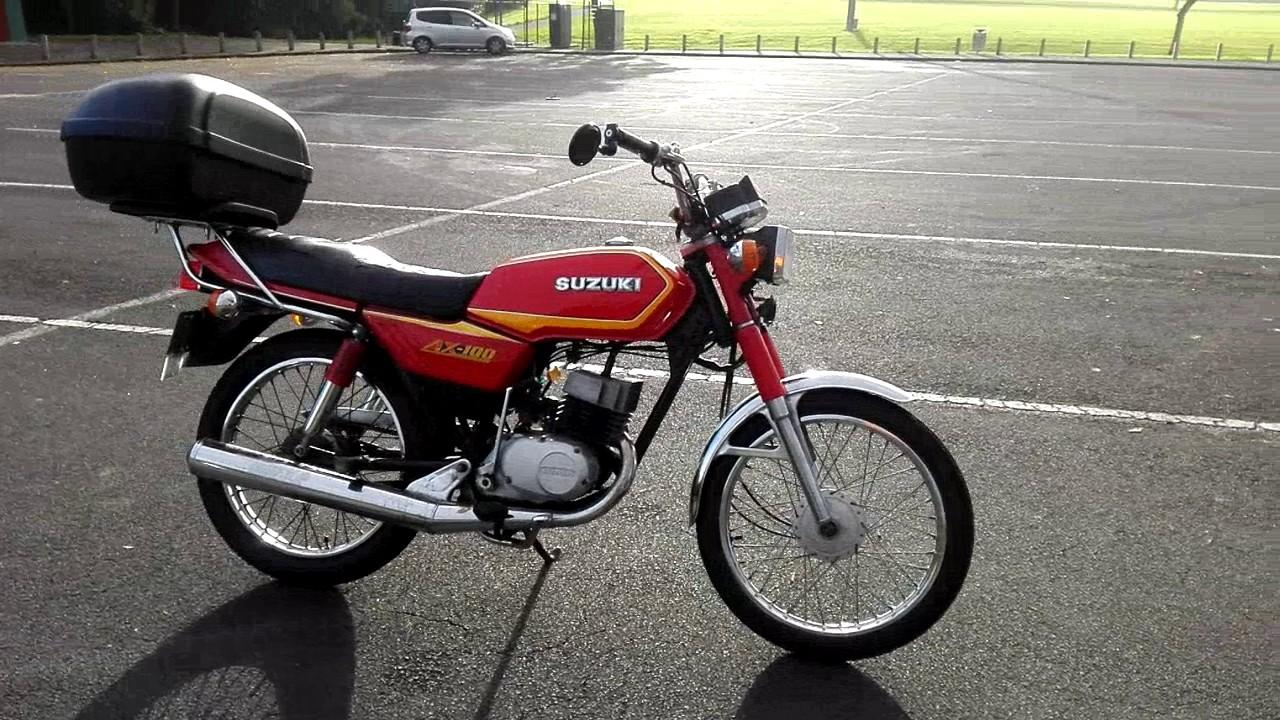 1986 Suzuki AX100 - YouTube