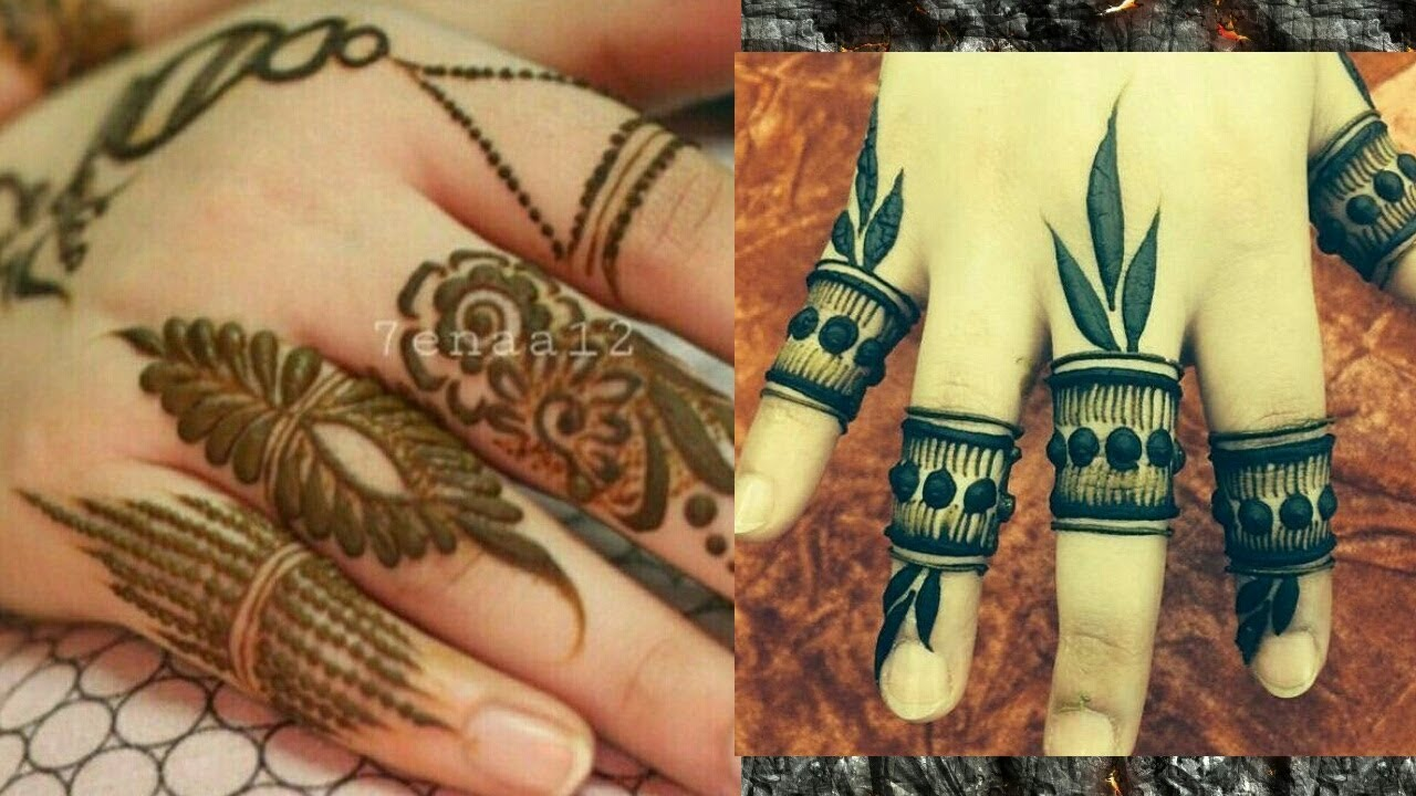 Finger Mehndi Design Images 2018