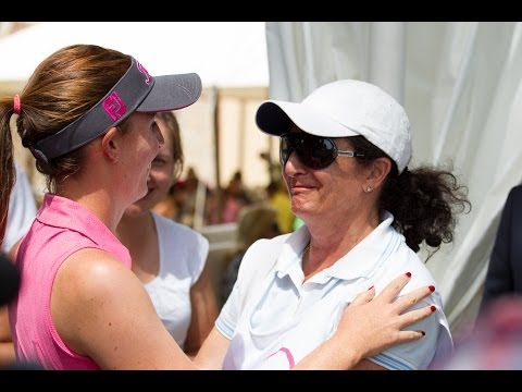 Florentyna Parker final putt to win - Ladies Italian Open Final Day