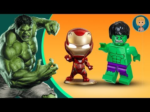 HULK IN ACTION! Gertit Plays with Lego Hulk and Iron Man Universe in Peril Game PART 1